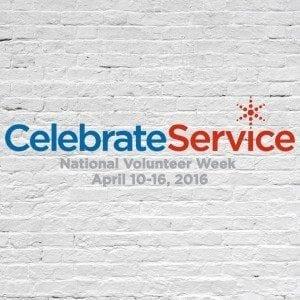 Celebrate Service Week logo