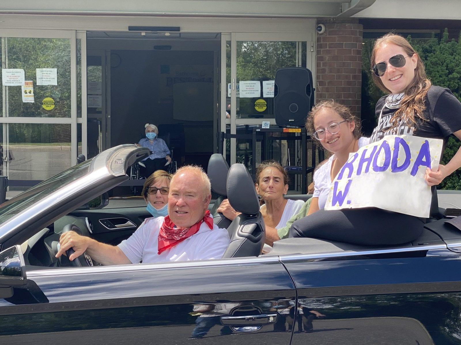 Drive-Up Visits at Gurwin